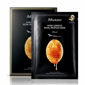韩国肌司研JM solution莹润蜂胶面膜(黑臻版)30ml*10片