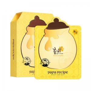 韩国春雨Papa recipe蜂蜜保湿补水面膜10片/盒【预售11.2发货】